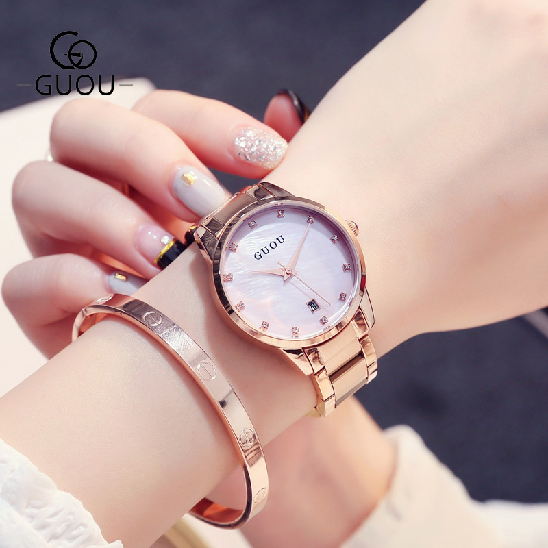 Fashion Alloy Belt Women Watches Unisex women's watch Minimalist Style Quartz Watch relogio feminino saat Watches for women 2019
