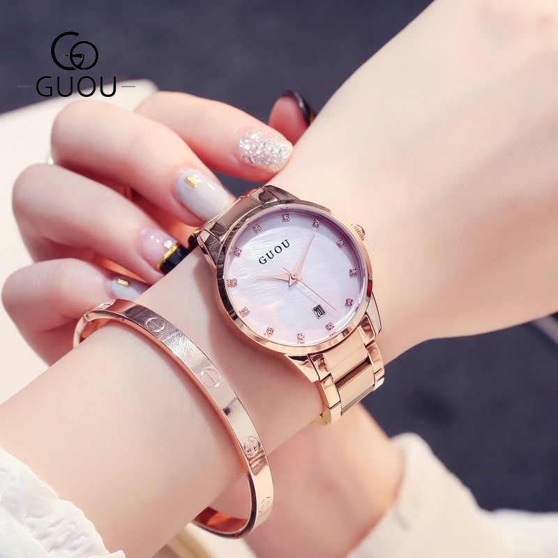 Reloj mujer Kırmızı Paslanmaz Çelik Kadın Saatler Top Marka Lüks Ultra ince Kol Saati Kadın Izle Bayanlar Izle Saat montre femme