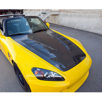 OLOTDI Factory Car Tuning JS STYLE BONNET FRP Fiberglass Car Hood Cover for Honda S2000