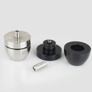 Image 4 - Altavoces de Audio HIFI para amplificador de chasis de acero inoxidable/aleación de aluminio, amortiguadores, almohadilla de pie, Base de pies, clavos, soportes G1023