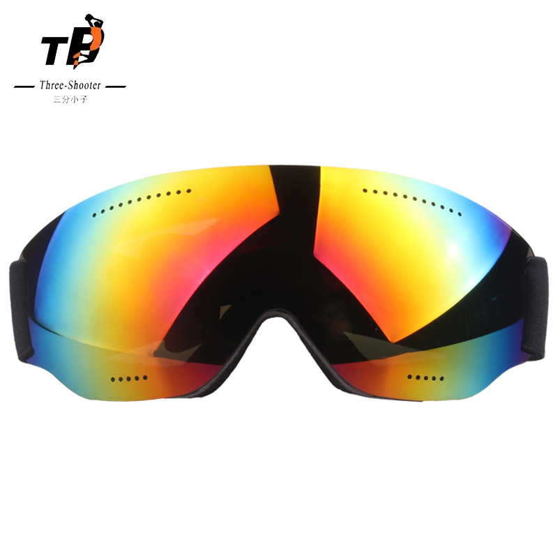 Single Layer Ski Glasses Large Spherical Cocker Near-sighted Snow Mirror Eye-protection Goggles Bicycle Glass Adult Ski Goggles