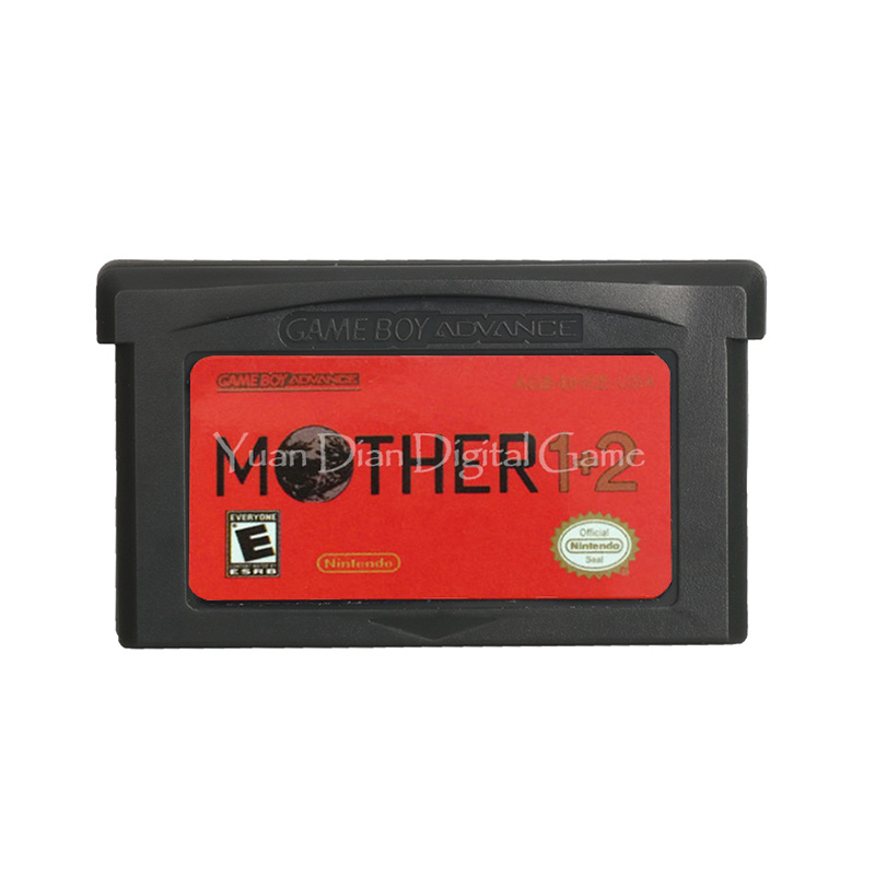 For Nintendo GBA Video Game Cartridge Console Card Mother 1+2 English Language US Version