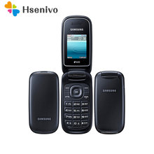 Samsung E1272 Renoviert-Original Entsperrt Samsung Flip E1272 telefon Dual Sim Karte GSM 2G Bluetooth FM Radio telefon freies verschiffen
