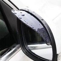2pcs Preto Protetor Lateral Retrovisor Do Carro Espelho Chuva Sobrancelha Capa de Chuva À Prova de Água de Grande Valor Toldos e abrigos Automóveis e motos -