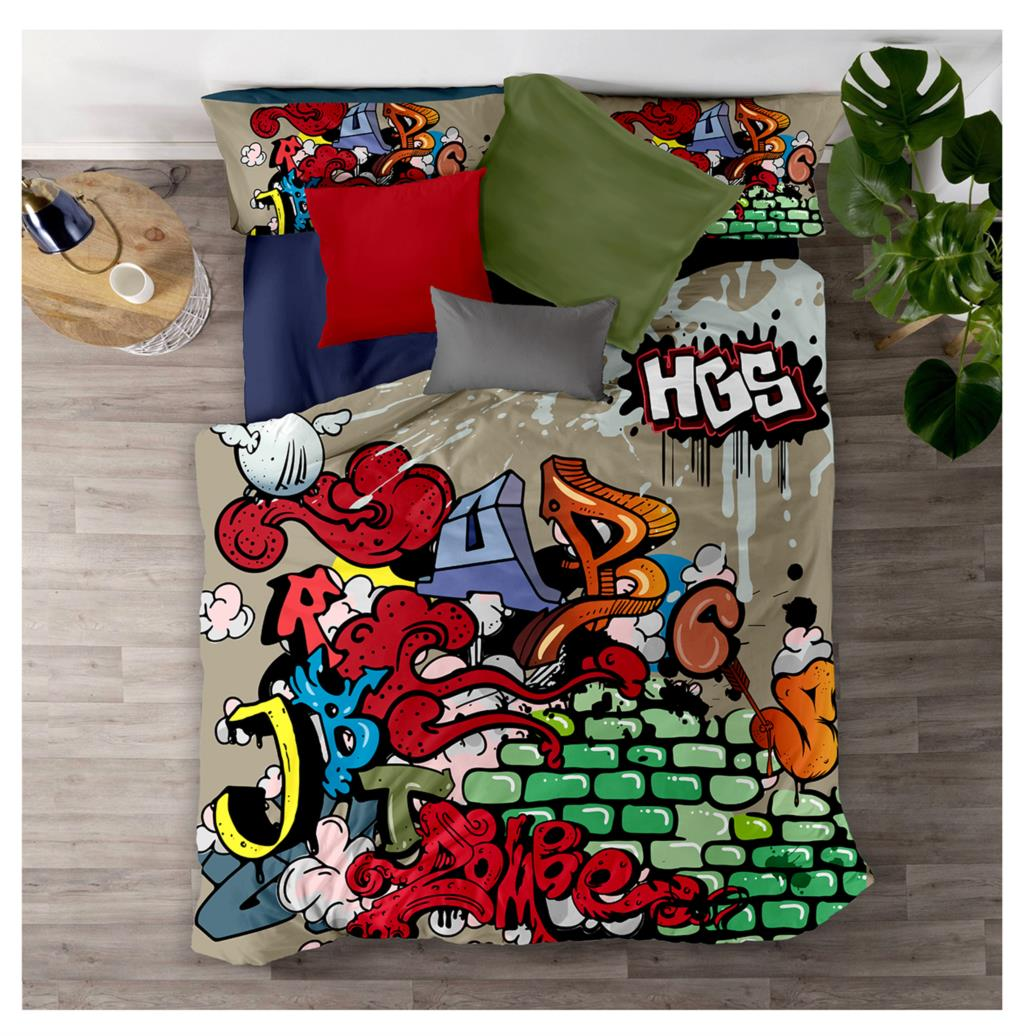 AHSNME Hip Hop Bedding Set 2/3pcs Duvet Cover Sets Europe Size King Queen Street Art Quilt Cover  Customize Design
