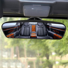 Rear-View-Mirror Parking Panoramic Wide-Angle Car Black Reference Auto-Reverse-Back Car-Styling