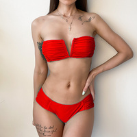 DJC313703-Women Sexy Bikini High Waist Swimsuit