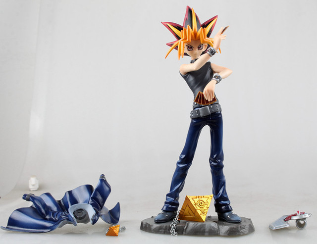 [Funny] 20cm ARTFX J Yu-Gi-Oh Duel Monsters: Yami Yugi PVC Action Figure collection Model Toys kids gift
