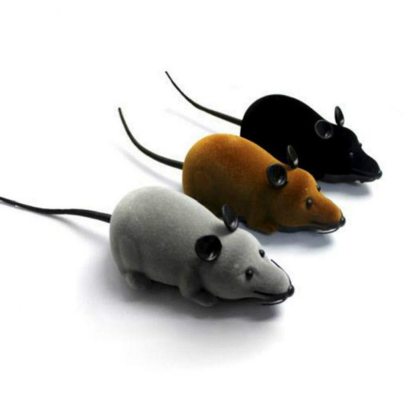 12CM Hot Sale Remote Control RC Rat Mouse Wireless For Cat Dog Pet Toy Surprised Novelty Gift For Kid Educational Toy With RC