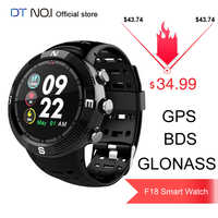 DTNO.I NO.1 F18 GPS BDS GLONASS 3 Satellites Global Positioning System Heart Rate Blue tooth 4.2 Sport Smart Watch Smartwatch