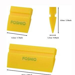 Image 4 - FOSHIO 2 Chiếc Xe Tinting Dụng Cụ Cao Su Chống Sóc Lưỡi Dao Cửa Sổ Tint Phim Lắp Đặt Vinyl Bọc Sạch Gạt Nước Lau Tuyết xẻng