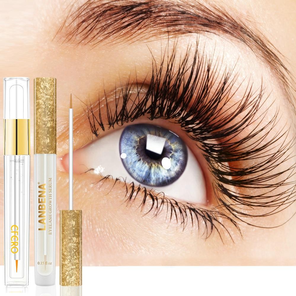 EFERO Eyelash Growth Eye Serum Eyelash Enhancer Eye Lash Serum Eye Makeup Treatment Eye Lashes Extensions Mascara Thicker Longer
