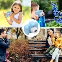 Girl Toys Gifts Kids Camera Digital for Birthday Holiday Present Camcorder 2 Inch IPS Sn for Children Toddler (Blue)(China)