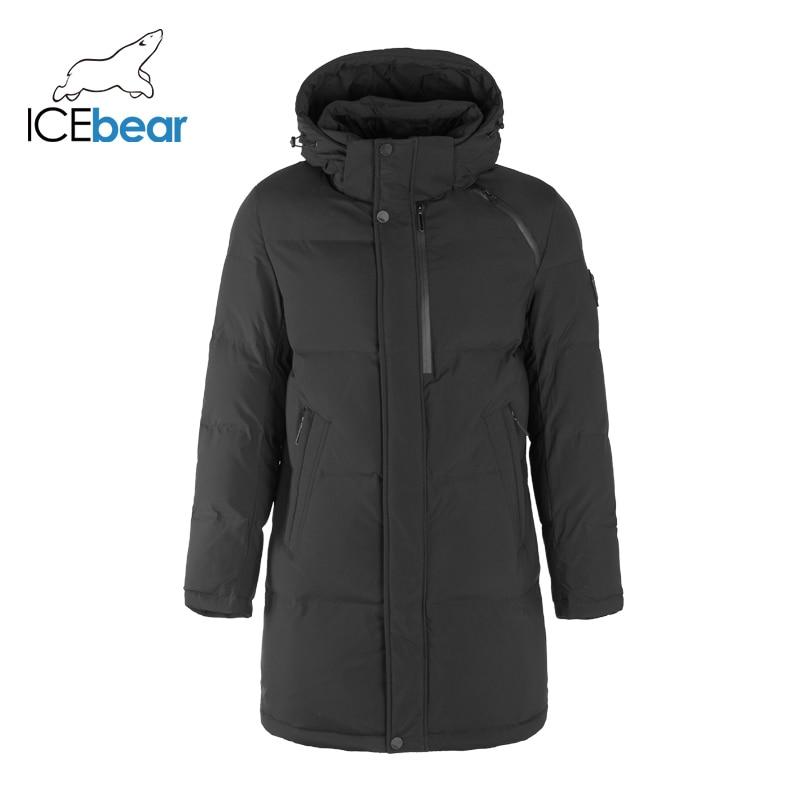 ICEbear 2019 New Winter Coat High Quality Men's Jacket Brand Clothing MWD19922I icebear 2018 new high quality winter coat women hooded windproof jacket long women s clothing high grade metal zipper gwd18101d