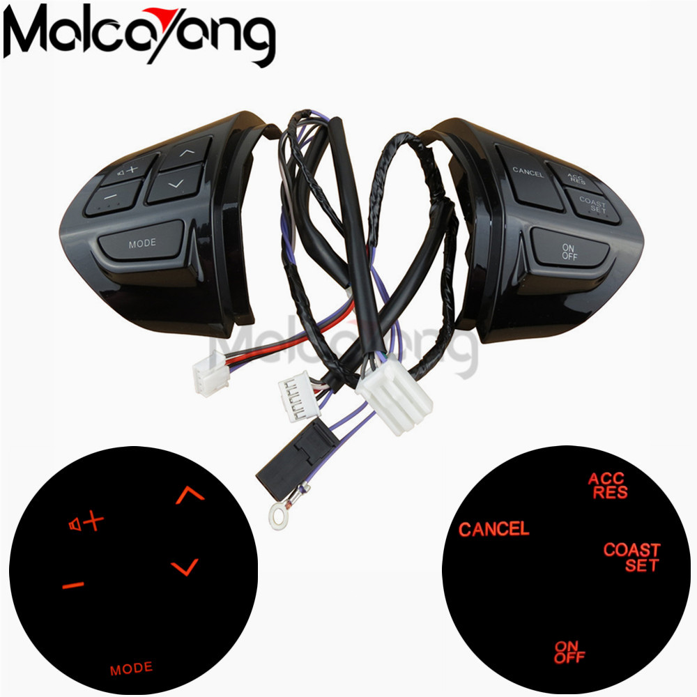 Image 5 - Multifunction Steering Wheel Button Cruise Control Switch For Mitsubishi ASX 2007 2012 Outlander Cruise Control Switch Button-in Car Switches & Relays from Automobiles & Motorcycles