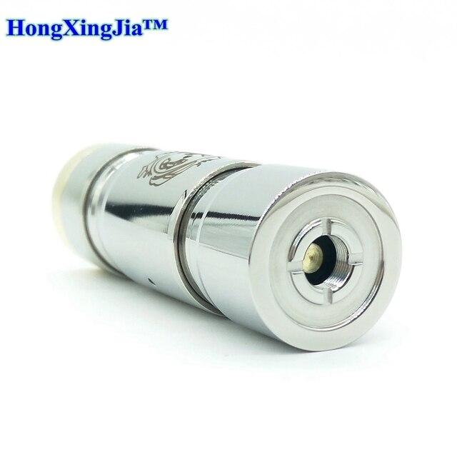 Vape mekanik mod 22MM çap 510 iplik Mod Fit 18650/18500/18490 pil Vape kalem mod kitleri HXJ orijinal vape bandı