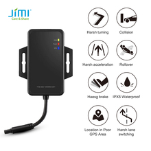 Jimi New JM-VG01U Car GPS Tracker With GPS + INS Real Time Tracking Driver Behavior Analysis Easy Installation For Cars Taxi