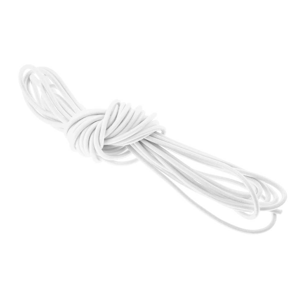 Espesor 3mm cuerda elástica Cordón de choque 0,5 m-100 m variaciones elaboración elástico cuerda atar barco tráiler kayak Correa