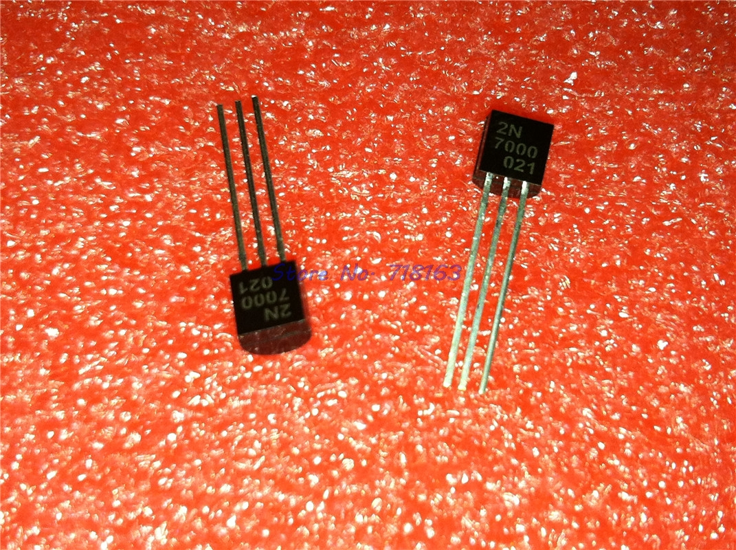 20pcs/lot 2N7000 TO-92 In Stock
