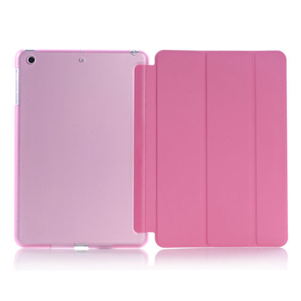 Ultra Slim Magnetic Smart Flip Stand PU Leather Cover Case for iPad Mini 1 2 3 Tri fold Smart Cover Dormancy Tablet Sleeve in Tablets e Books Case from Computer Office
