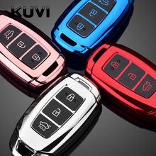 Мягкий ТПУ чехол для автомобильного ключа с дистанционным управлением чехол для Hyundai IX35 i30 KONA Solaris Encino Azera greataccent Fe TM Santa Palisade