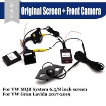 Car Front View camera System CANBUS Connect Original Factory Screen Monitor For Volkswagen VW Gran Lavida 2017 AUTO CAM Decoder