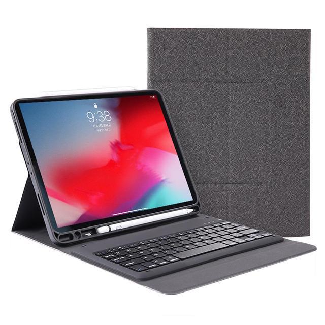 SD-129 housse de tablette en cuir sans fil Bluetooth clavier étui clavier séparable PU Cortex pour iPad Pro 12.9 protecteur