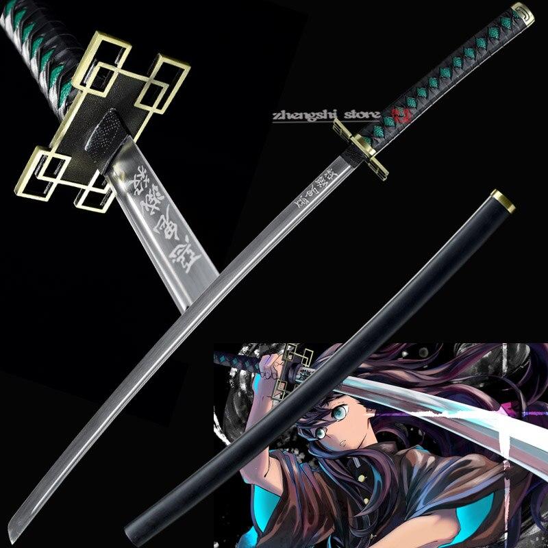 """41/"""" Handmade Full Tang Sharp 1045 Carbon Steel Samurai Sword Anime Zoro"""