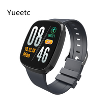 цена на T2 Bluetooth smart watch 1.3 inch ultra-thin touch screen heart rate blood pressure blood oxygen health pedometer sports band