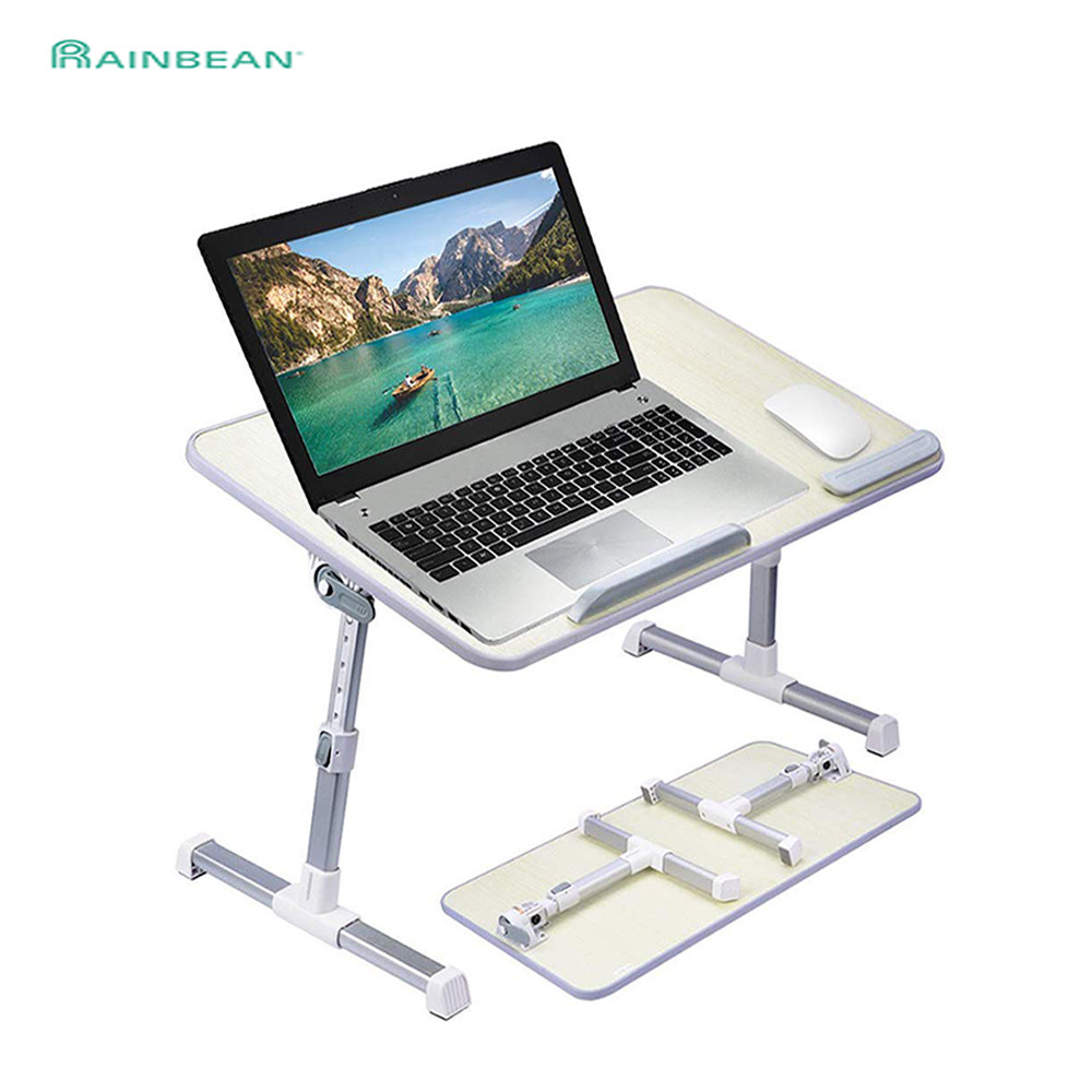Adjustable Laptop Desk Stand Foldable Notebook Laptop Bed Table Can Be Lifted Standing 52*30cm Study Table Computer Desk