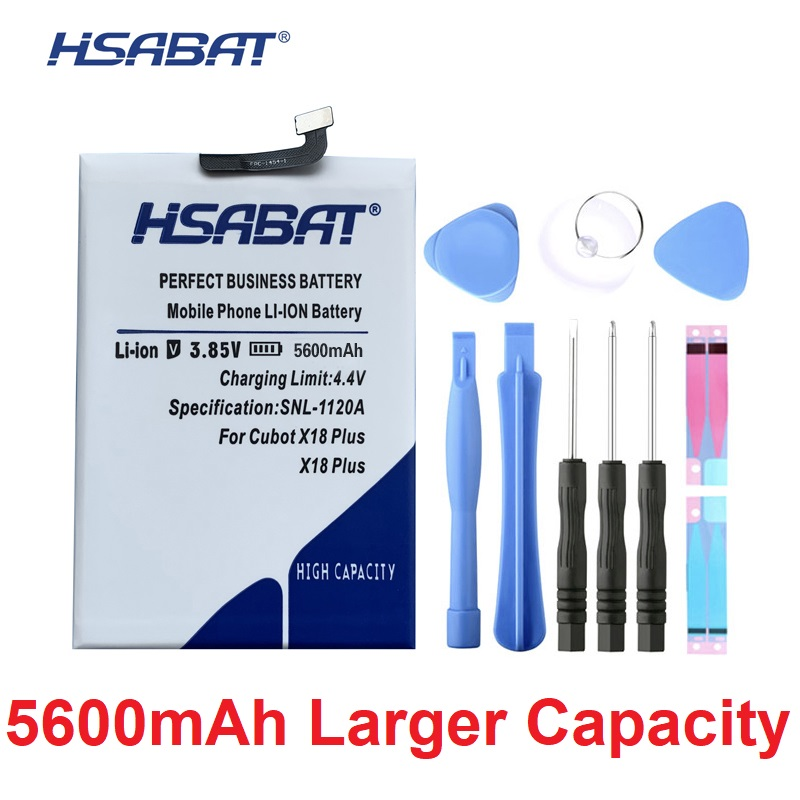 HSABAT Batteries Cubot-P20 X18-Plus Cycle-5600mah-Battery For High-Quality