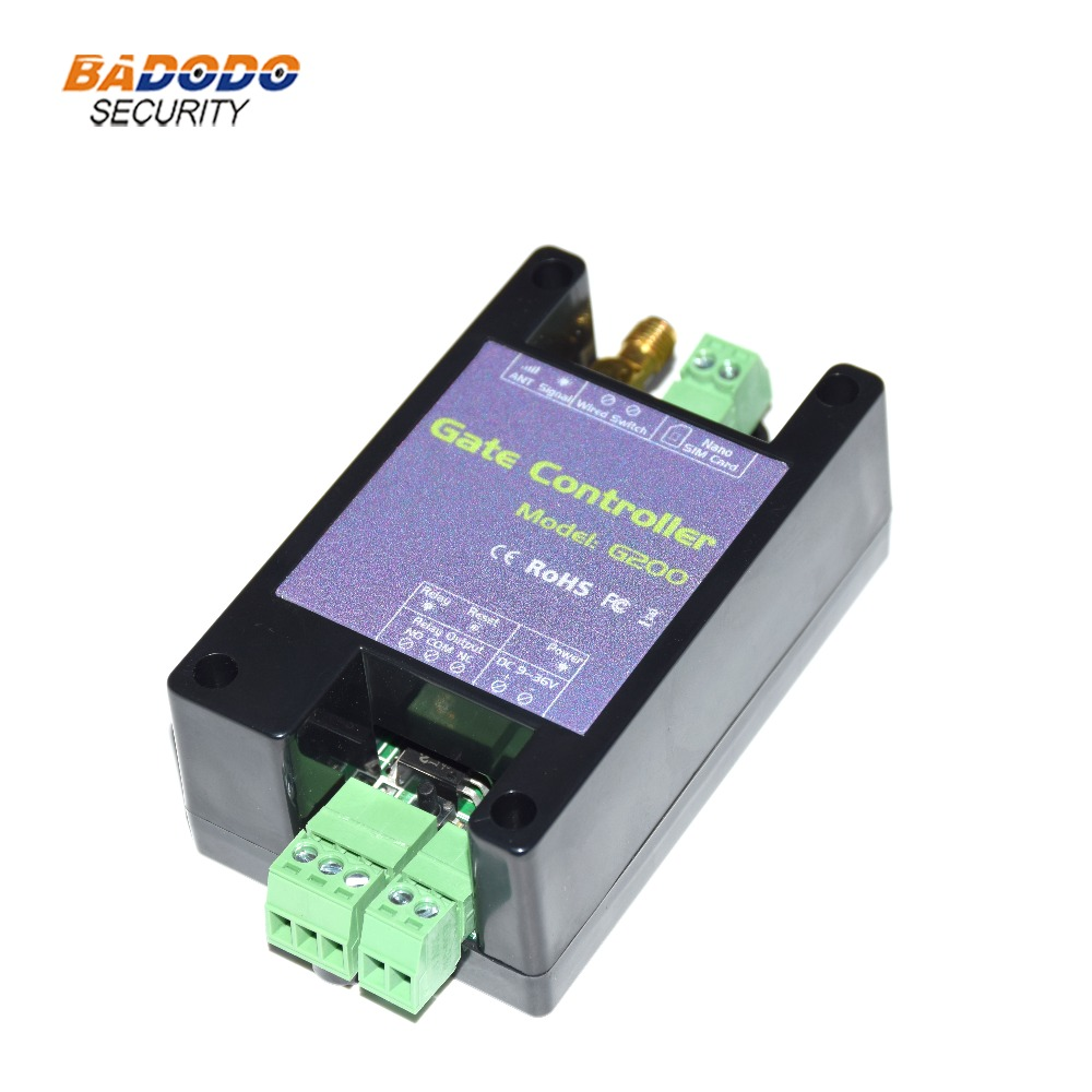 New Version GSM Gate Opener GSM Mobile Phone Access Controller Remote Control Switch SMS Door Control