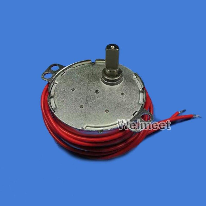 AC5V 6V 9V 12V 24V 110V 220V TYC Plastic Gear Synchronous Reduction Gear Motor