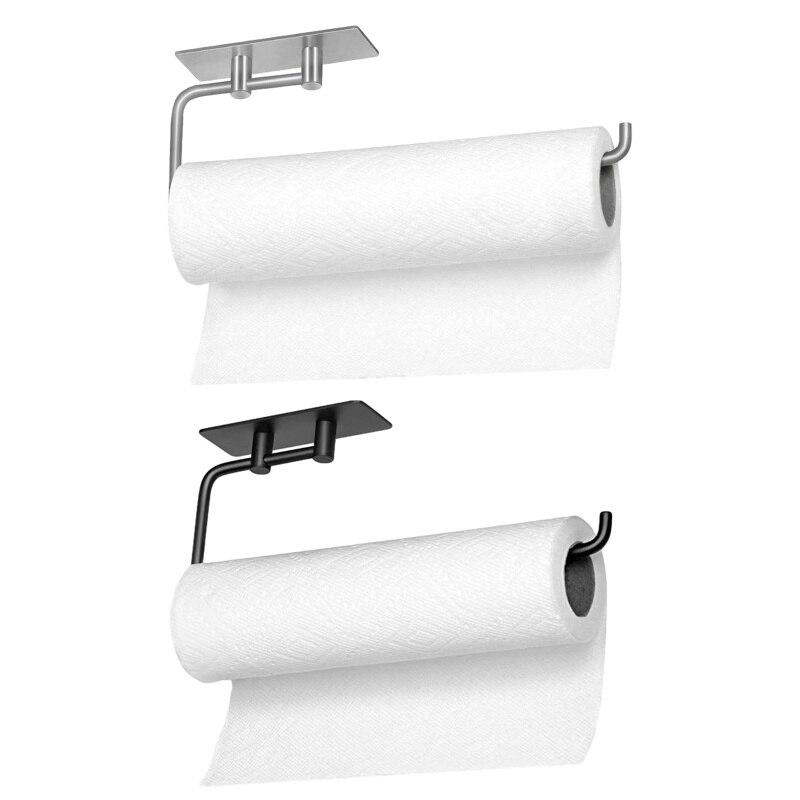 Новинка кухня рулон бумага аксессуары стена крепление унитаз бумага держатель нержавеющая сталь сталь ванная салфетки полотенце аксессуары вешалка держатели