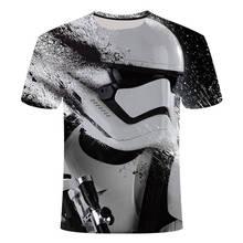 2019New Harajuku t shirts Yoda/Darth Vader Star Wars printed