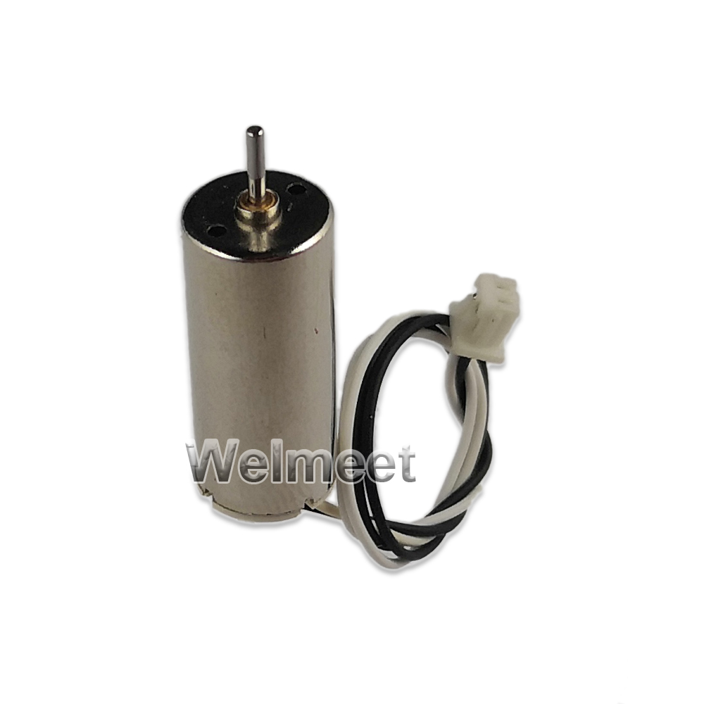 2pcs DC7.4V 48000rpm 8.5x20mm NdFeB Strong Magnetic 8520 Coreless Motor for DIY HM Helicopter Aircraft Airplane Model image