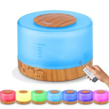 Humidifier  Remote Control Essential Oil  Aroma Diffuser, 500ml with  for Office  Home  Bedroom  Baby Room