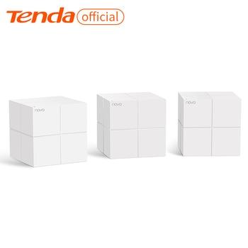 Tenda MW6 sistema de red WiFi inalámbrico para todo el hogar con 2,4G/5,0 GHz WiFi Router y repetidor inalámbrico, aplicación remota administrar