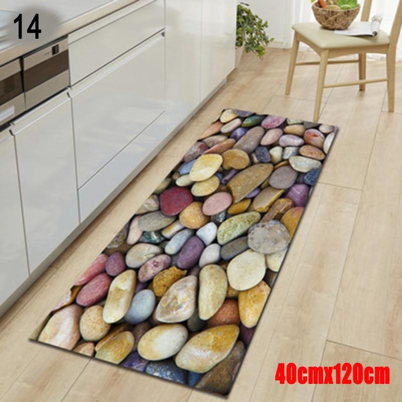 Bedroom Soft Stone Carpet Entry Non Slip Mats Bathroom Absorbent Mat Machine Wash Polyester Yoga Mat UD88 Carpet     - title=