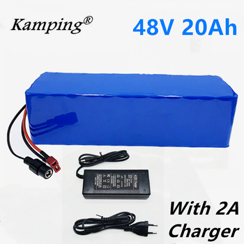 48v lithium ion battery 20Ah 1000w 13S3P Lithium Battery Pack For 54.6v E-bike Electric bicycle Scooter with BMS+charger