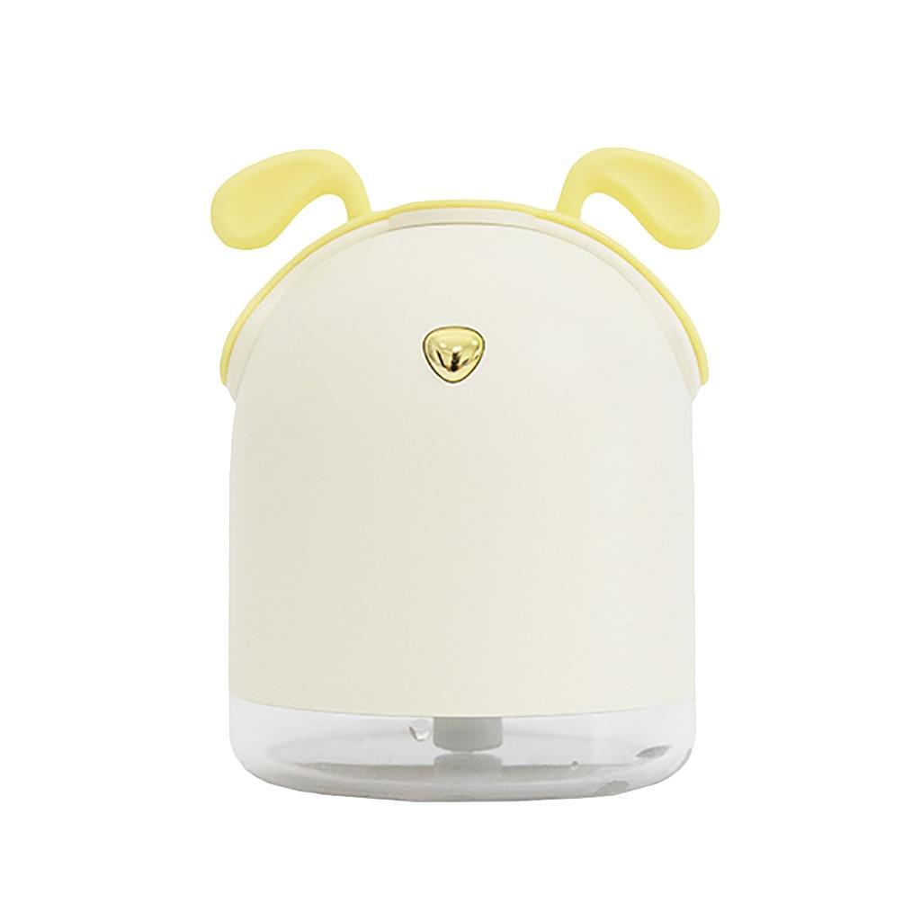 Креативный автомобильный диффузор эфирного масла, мини ультразвуковой увлажнитель, светодиодный, USB аэрозольный генератор для ароматерапии, автомобильный освежитель воздуха - Цвет: Yellow