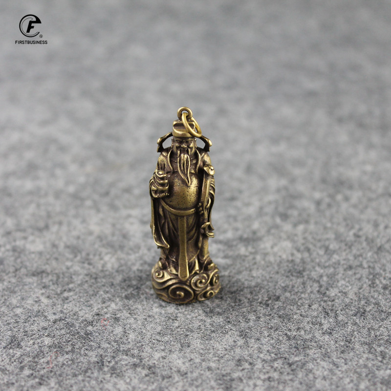 Copper Small money god Statue Ornaments Home Decoration Accesories Chinese God of Wealth Feng Shui Figurines