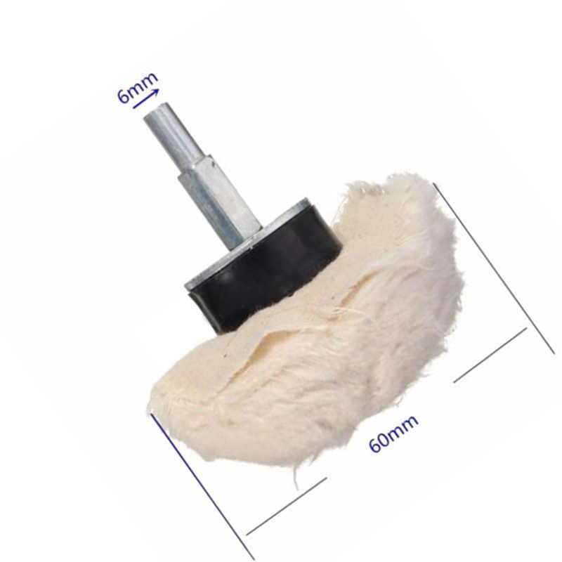 Plastikowa tarcza polerska 8x6mm zestaw kopuła czara Cylinder polerowanie zestaw z metalowymi tkaninami bawełnianymi związek ze stali nierdzewnej