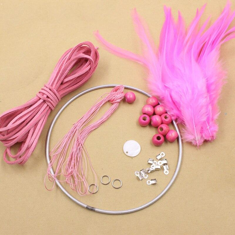 DIY Dream Catcher Craft Kit Handmade Purple