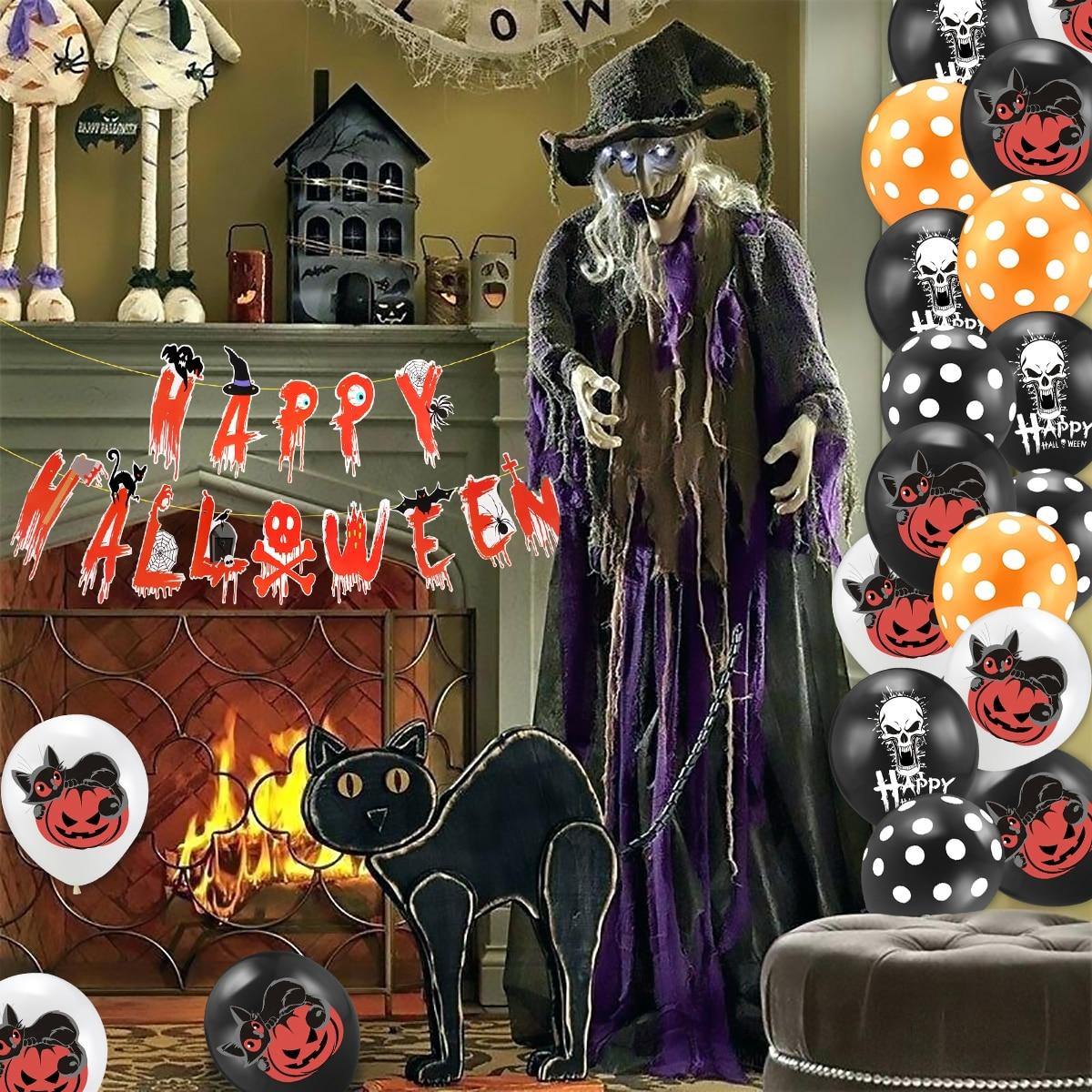 Happy Halloween Decor Set 10
