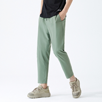 Semir casual pants men 2020 summer new Korean loose feet pants students tide brand nine points pants men's clothing 2019 summer big code harem pants skinny students thin sports pants female loose white side nine points casual women pants