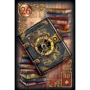 Tarot 2020 Full English Read Fate Lenormand Oracle Cards Mysterious Fortune Tarot Cards Deck Board Game For Divination Fate Card new knowledge wisdom oracle cards 52 cards set english mysterious fortune tarot cards game for girls family card game