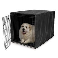 210d-kennel-reduce-stress-dog-cage-cover-house-windproof-pet-supplies-foldable-sunscreen-water-resistance-windsheild-dustproof