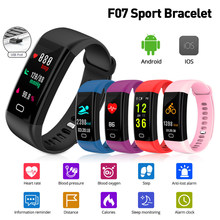 Smart Band For Men Women Watch Fitness Bracelet Color Screen IP68 Waterproof Heart Rate Blood Pressure Oxygen Monitor Smartband(China)