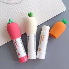 Sharkbang – ensemble de 3 bâtons à colle solide, 8G, 10CM, carotte créative, fraise, accessoires portables, papeterie scolaire et de bureau